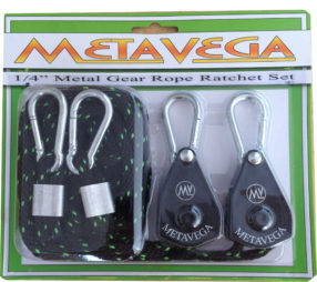 Metavega rope ratchet sets